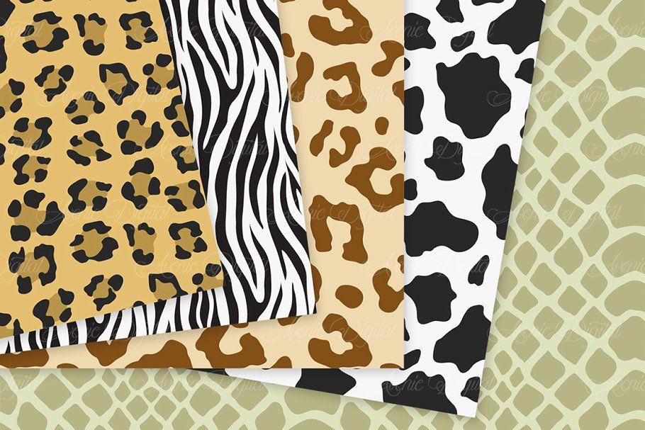 Animal Print Vector Patterns Paper Animal Print Animal Prints Pattern Pattern