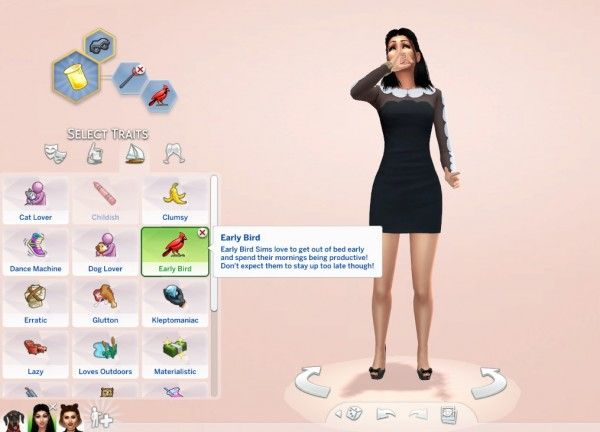 Mod The Sims: Early Bird Trait by Twilightsims • Sims 4 Downloads