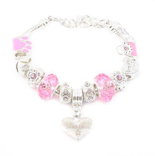 Big Sister Pink Engraved Charm Bracelet Girl's Gift Boxed Q7LK7ANIbK