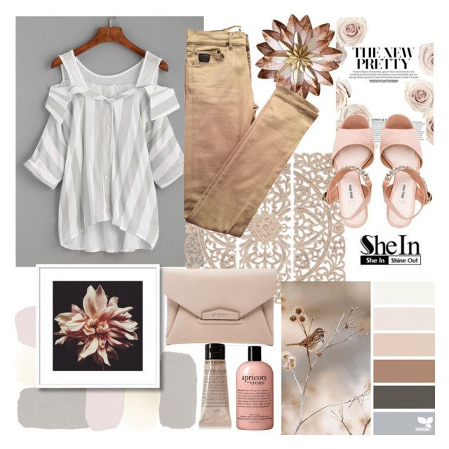 """""""Untitled #20"""" by npavuch ❤ liked on Polyvore featuring WithChic, Grown Alchemist, Home Decorators Collection, Givenchy, April 77 and Miu Miu"""