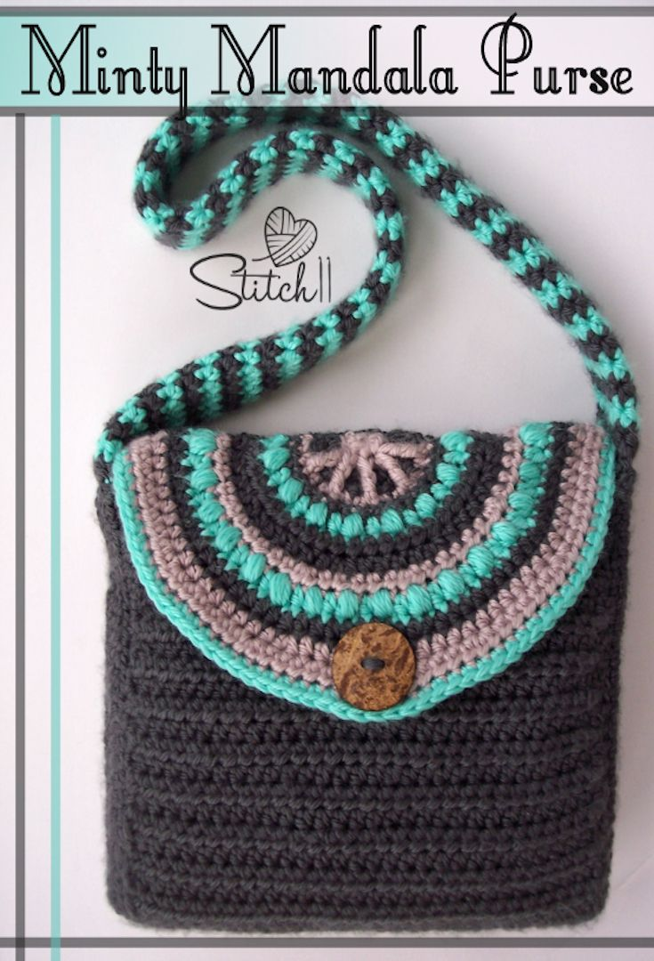 Seven Free Crochet Bag Patterns -for the Young at Heart ...