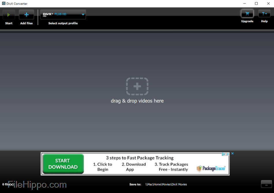 The official DivX player and converter