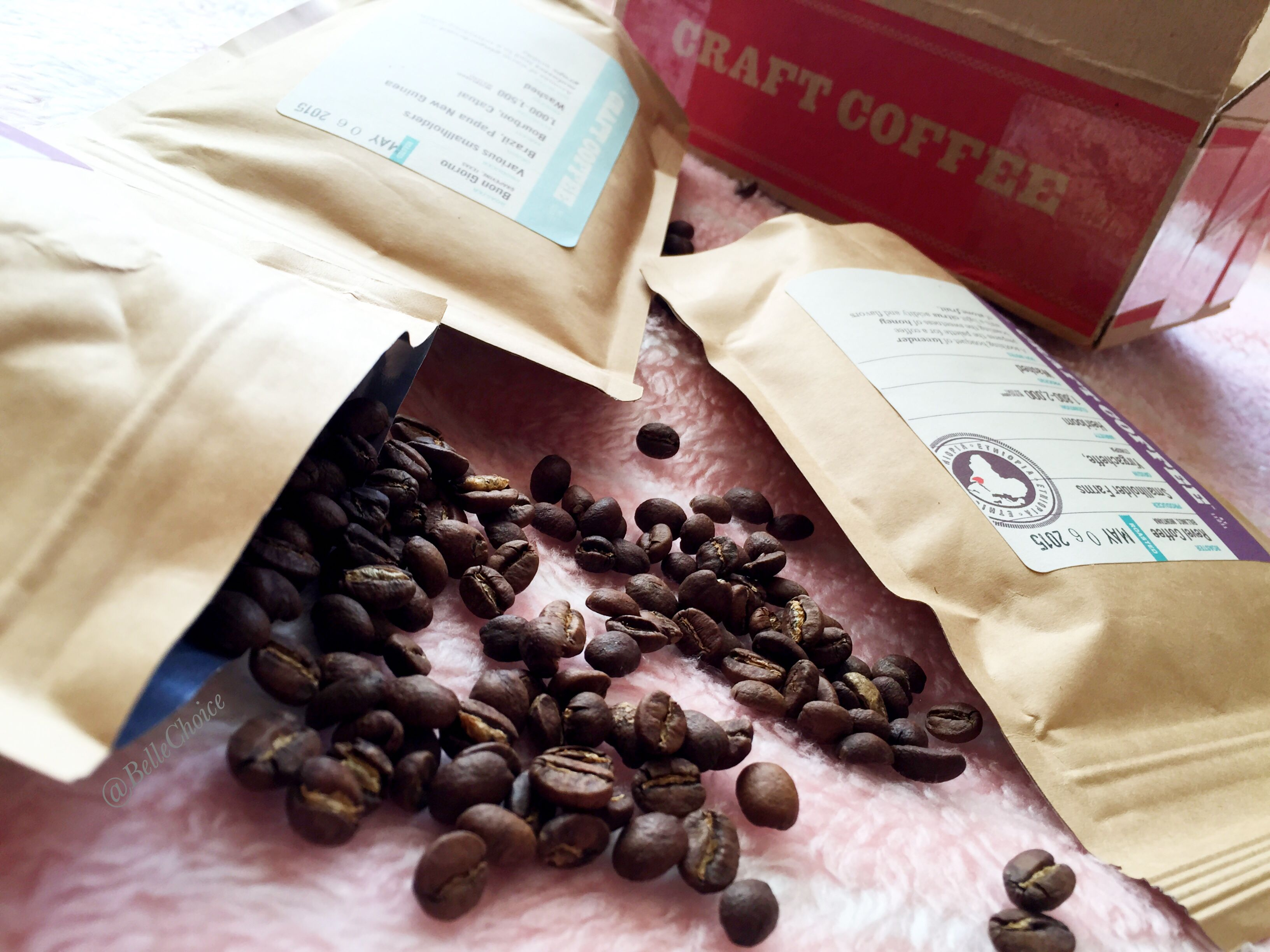 Craft Coffee subscription box review on blog Coffee