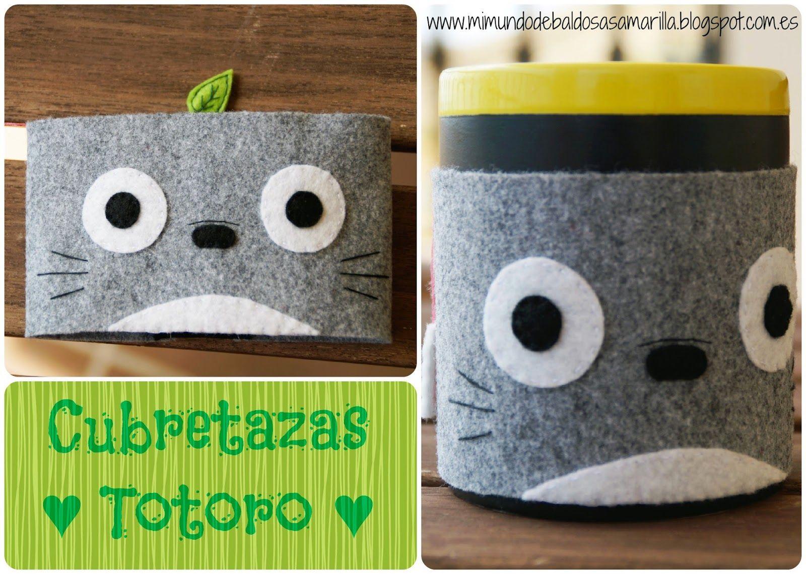 Mi mundo de baldosas amarillas: Cubretazas Totoro (en fieltro)
