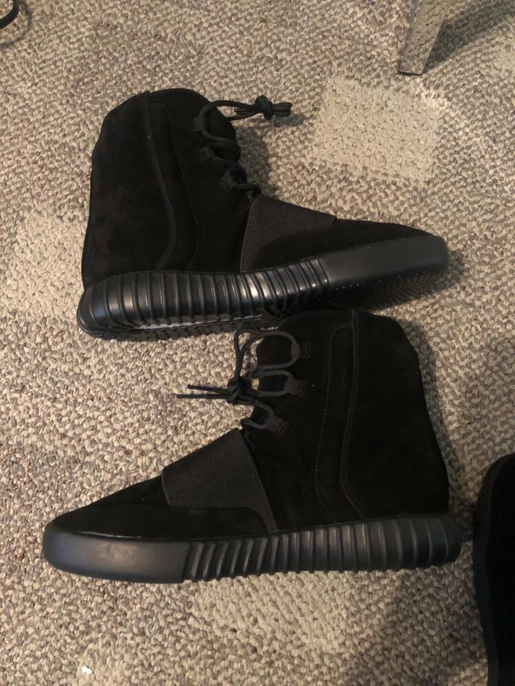 more photos 94ca2 6a753 Adidas yeezy 750 triple black Brand New Men Size 12  fashion  clothing   shoes  accessories  mensshoes  athleticshoes (ebay link)