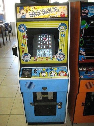 Fix It Felix Jr Arcade Video Game from Disney Movie Wreck It Ralph Ralph El  Demoledor c61cfe8af46