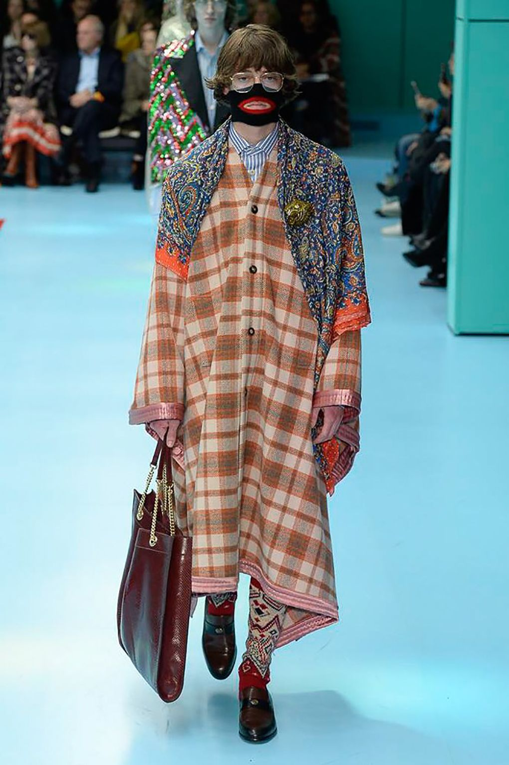 64648720258 Gucci s Fall Winter 2018 Show Featured Severed Heads