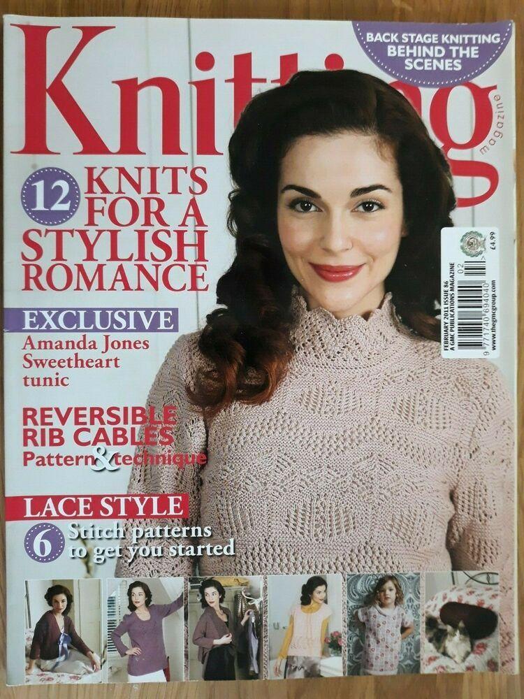 Knitting Magazine Issue 86 February 2011 9771740694040