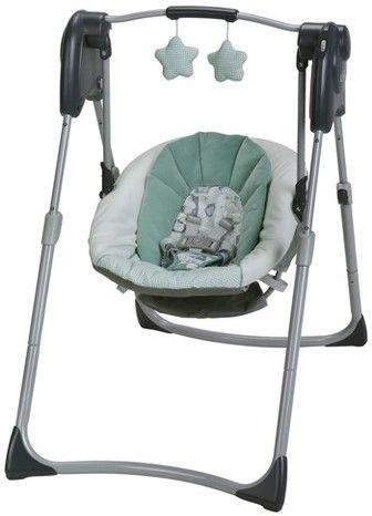 Graco Slim Spaces Compact Baby Swing Baby Swings Graco Baby