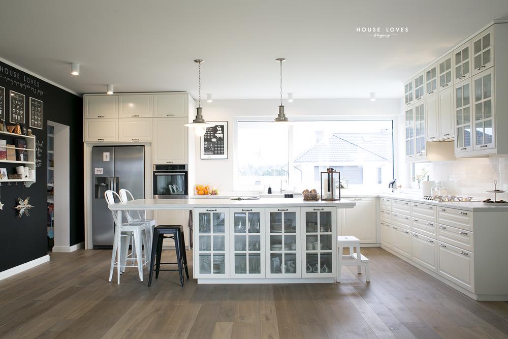 od inspiracji do realizacji #8 kuchnia  Kitchen white  -> Kuchnie Ikea Na Wymiar Opinie