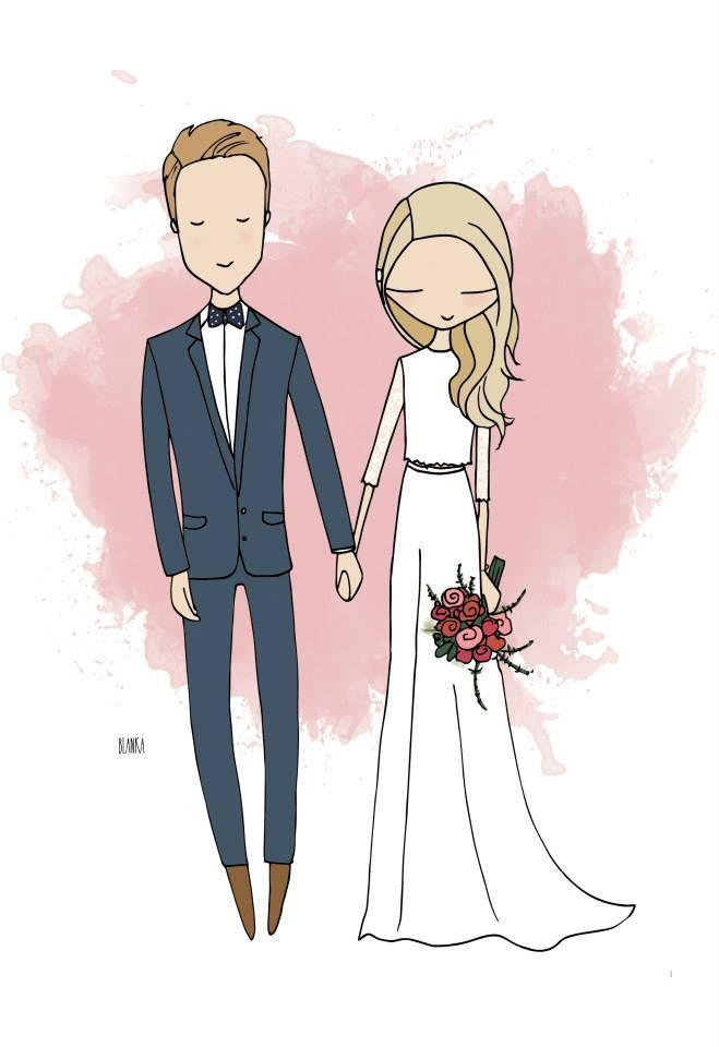 Wedding Ideas Printable Invitations Blanka Biernat Ilration Photo