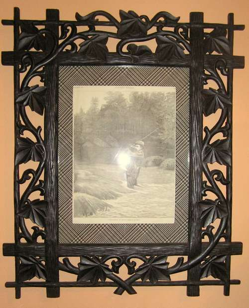 Arts and crafts picture frame | crafts | Pinterest | Photo frame crafts