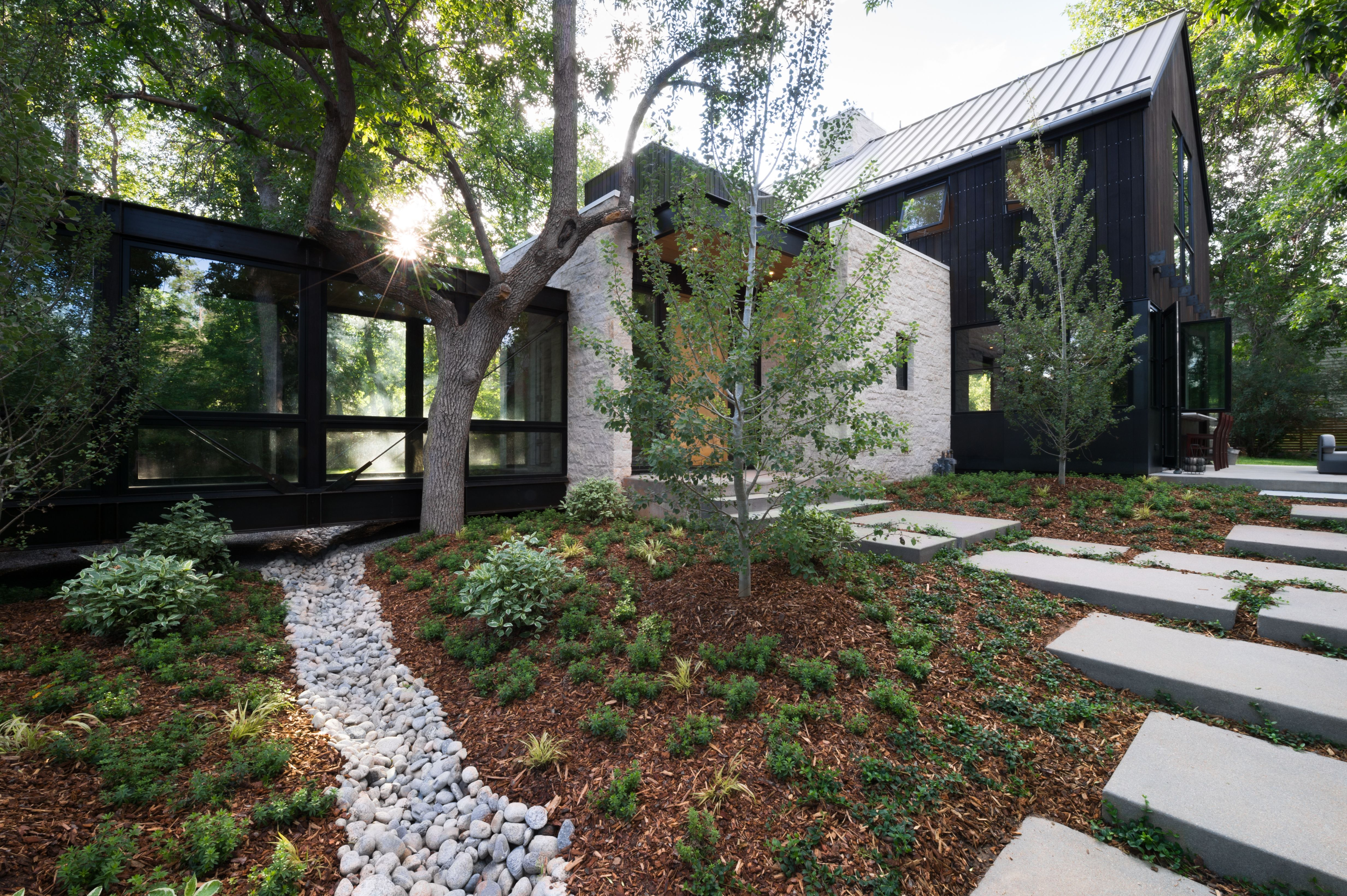 photo 12 of 12 in a colorado home puts a modern twist on on beautiful modern farmhouse trending exterior design ideas id=54906