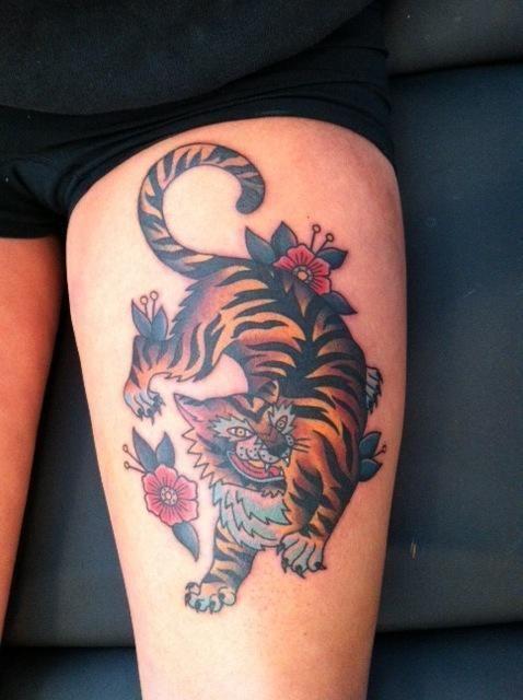 Tiger Tattoo | Minneapolis Tattoo Shop in MN | cat tats/other ...