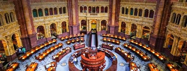 Main Reading Room Of The Library Of Congress Washington Dc It S From This Angle That Most Visitors To The Us Library Of Congress Reading Room Photo Travel