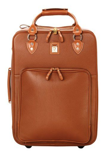 Travel in style with this Aspinal of London, large cabin case in tan pebble, £995, aspinaloflondon.com - always handy for a weekend away or longer - also great if you're a lawyer/solicitor helps to easily carry all those big case files :)...x