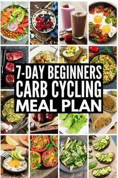 Carb Cycling für Weight Loss: 7-tägiger Carb Cycling-Verpflegungsplan   – Clean eating