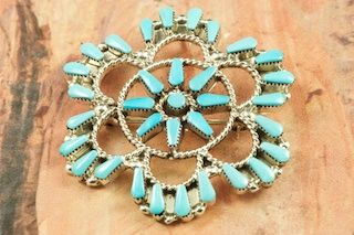 turquoise-brooches