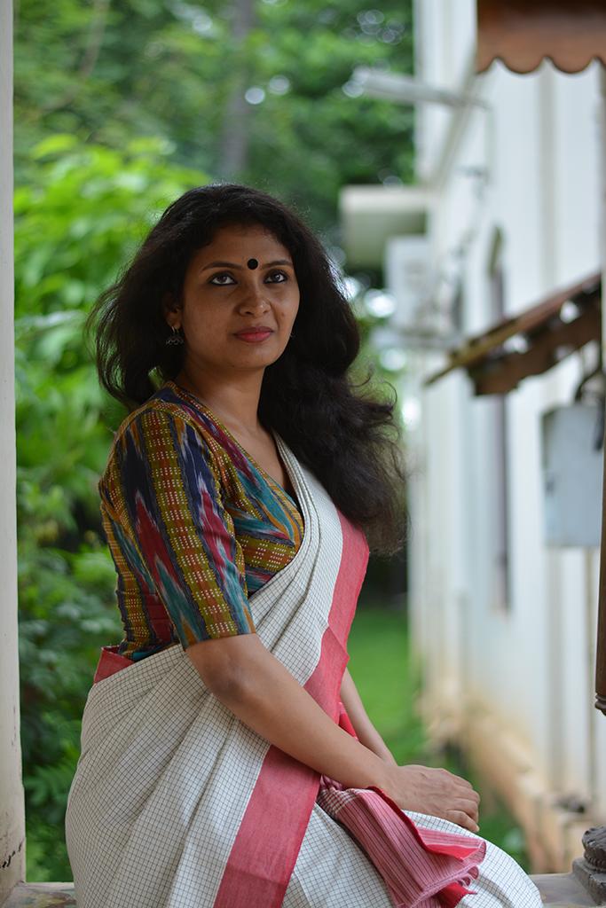 Rithu Ikat Blouse Blouses Pinterest Saree Blouse