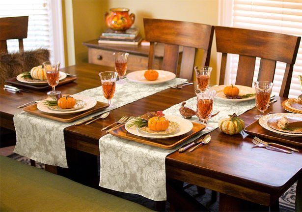 Extraordinary Table Decor Of Placemat Sets For Your Halloween Theme Table Runners Table Runner Diy Cushion Cover Designs