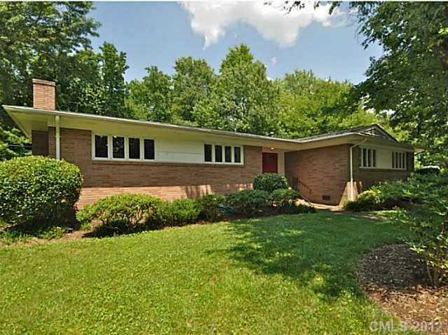 Mid-Century Modern Home for Sale in Charlotte, NC. Move in ready ...