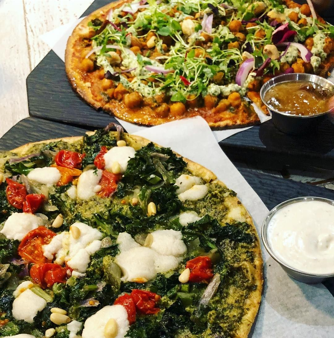 Alright vegan pizza time if you are in vancouver portland