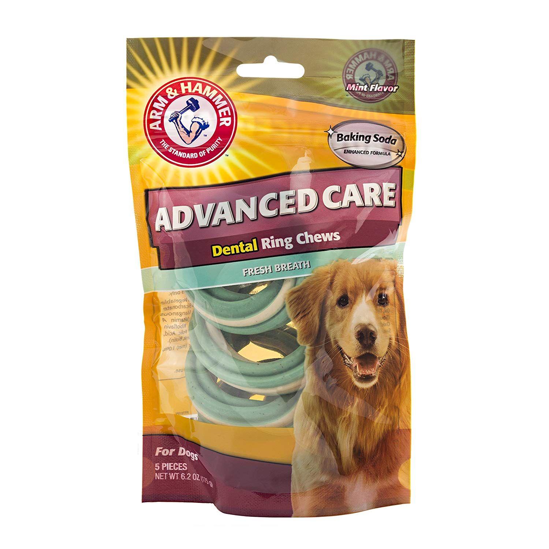 Arm and hammer dog dental care tartar control chews for