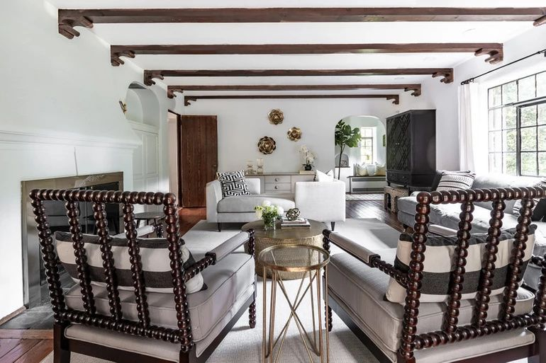 Modern Tudor Living Room By Curated Nest Interiors Westchester