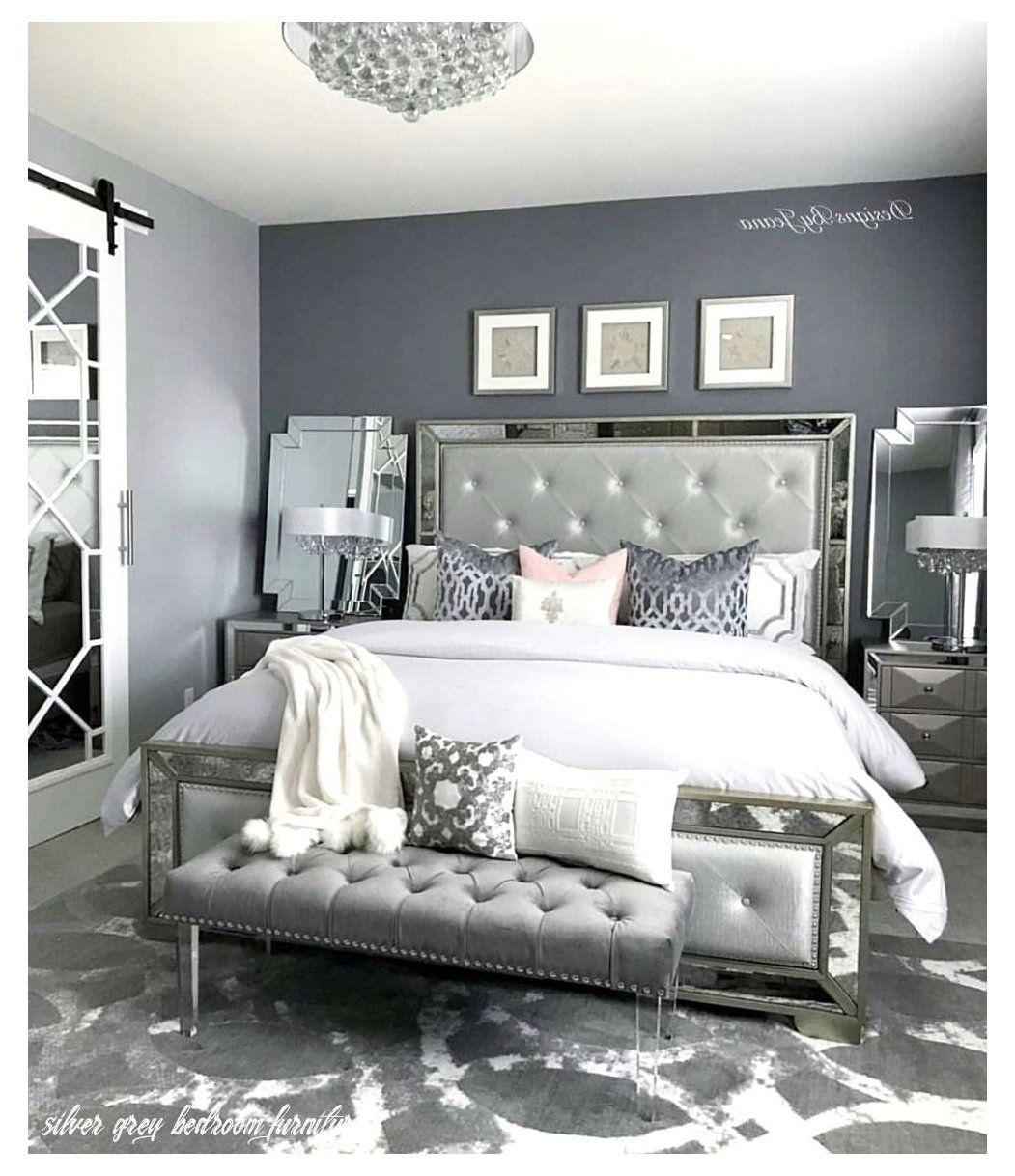 37 Beautiful Silver Bedroom Ideas Cozy Home Decorating Silver Bedroom Bedroom Decor