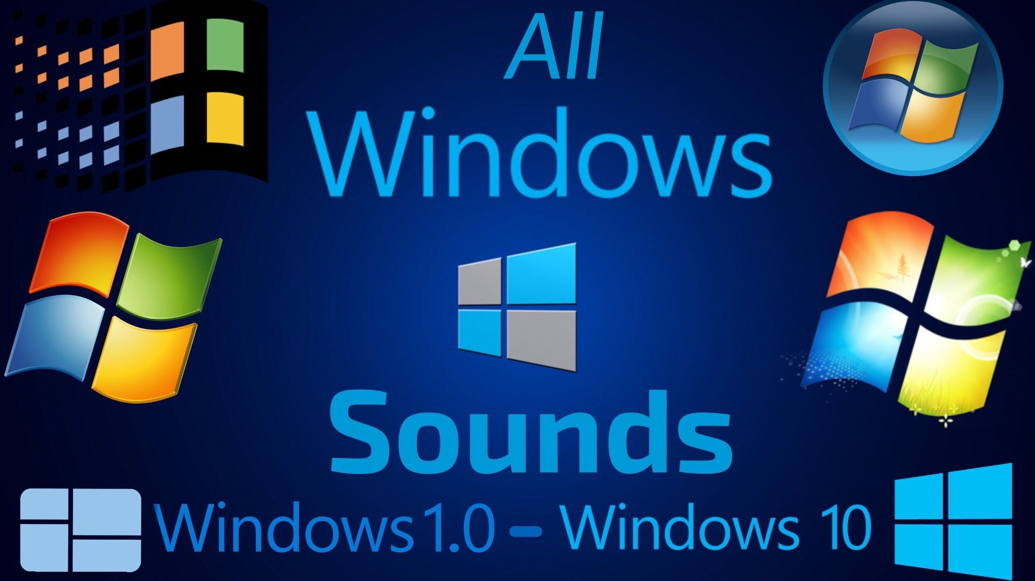 All Windows Sounds Windows 1 0 Windows 10 Windows 1 Windows 10 Windows