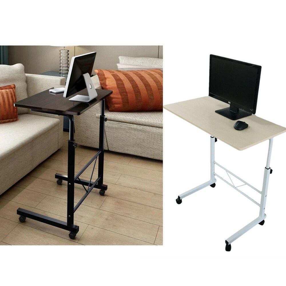 Height Adjustable Rolling Laptop Desk Cart Over Bed Hospital Table Stand Affilink Desk Desksetup Desk Portable Desk Hospital Table