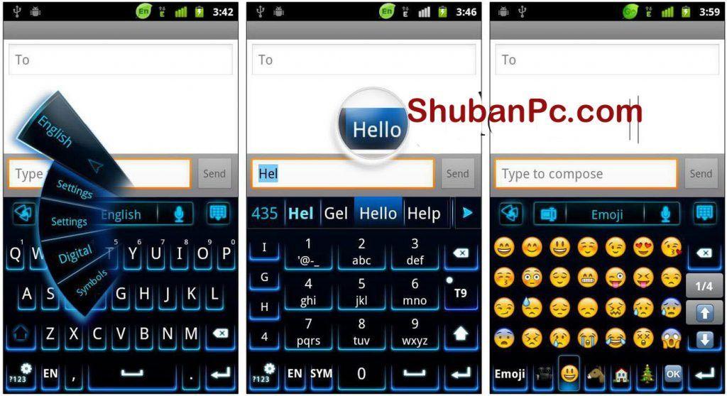 Go Keyboard Apk 2 29 Keyboard Android Keyboard Android