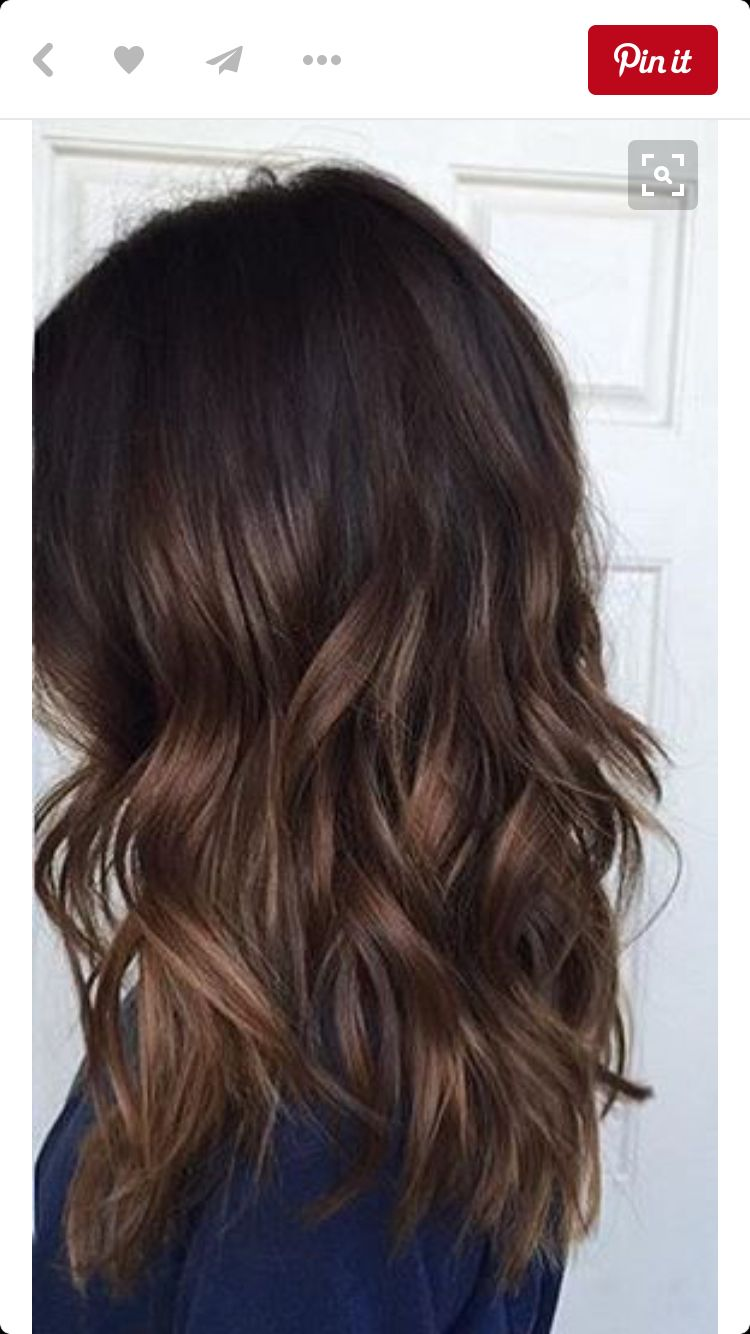 subtle balayage hairspiration make up pinterest. Black Bedroom Furniture Sets. Home Design Ideas