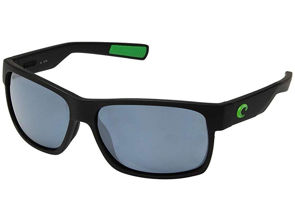 b2e9fe8a67 Costa Half Moon (Matte Black Green Logo Frame Gray Silver 580P ...