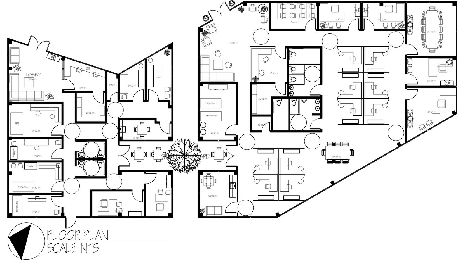 Commercial Floor Plan Design