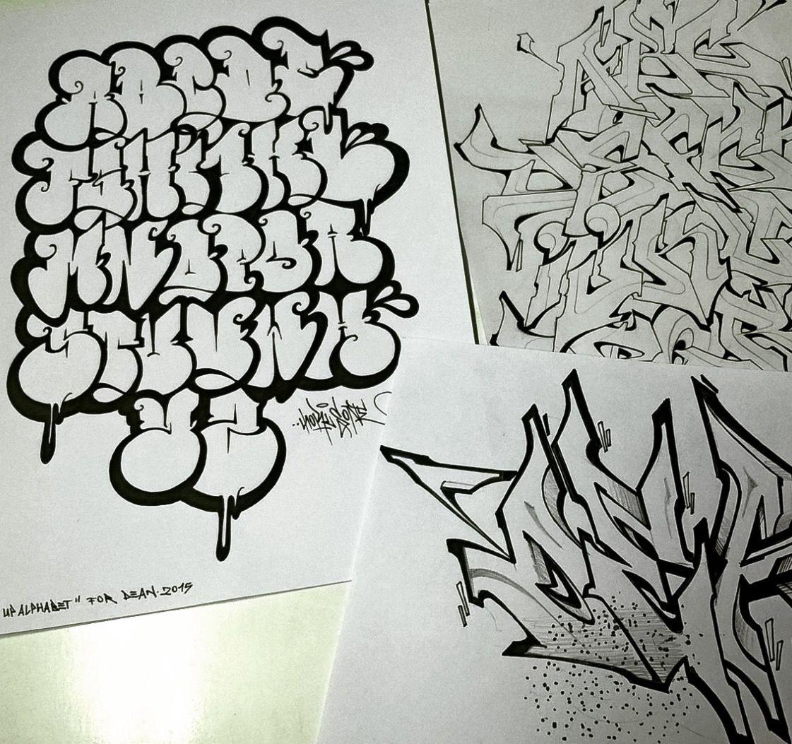 Pin By Edward Gwozdz On Graffiti Alphabets