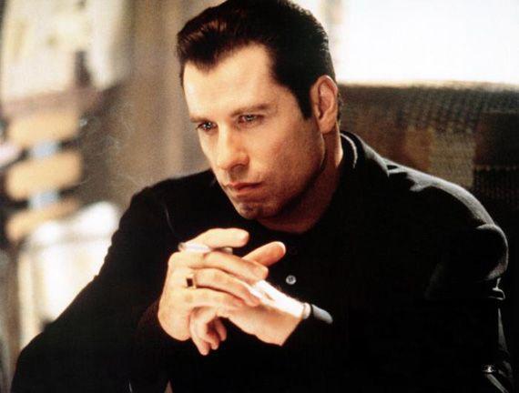 John Travolta As Chili Palmer In Get Shorty John Travolta Gangster Films Actor John