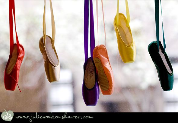 pointe shoes for every personality