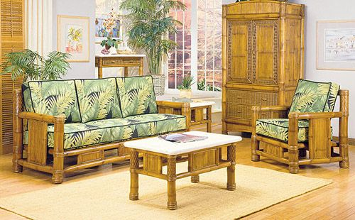 Bamboo Living Room Furniture All Natural Bamboo Furniture Bamboo