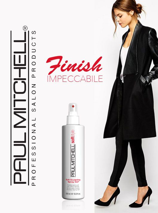 Paul Mitchell Soft Sculpting è uno spray incredibilmente efficace per la rifinitura delle tue acconciature in modo naturale. Non secca e non indurisce. L'alleato perfetto del tuo look! http://bit.ly/1uzDien #capelli #hair #hairdo #acconciature