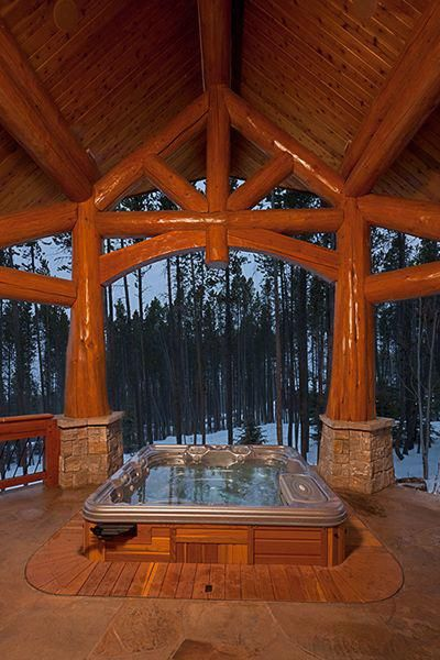 Mountain Chateau - SOLD  — L&K Real Estate #logcabinhomes