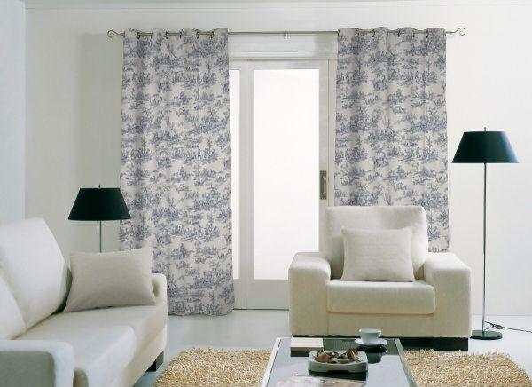 tendance d co le grand retour de la toile de jouy toile de jouy pinterest grands retours. Black Bedroom Furniture Sets. Home Design Ideas