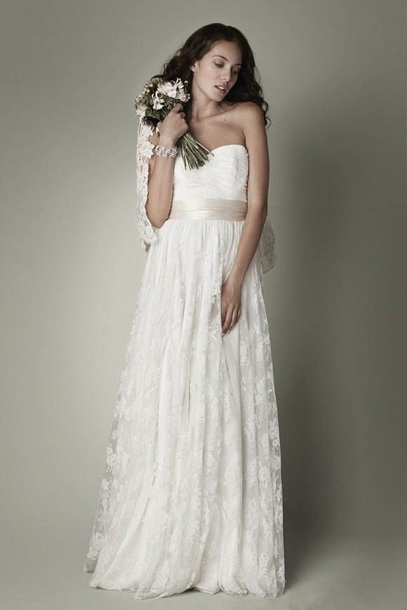 78  images about Lace Wedding Dresses on Pinterest - Spring- Lela ...