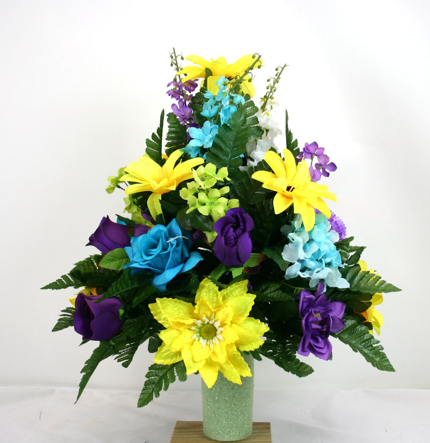 vase memorial decorations vases r flower of products s cemetery