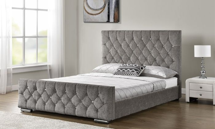Amazing Groupon Goods Global Gmbh Velvet Or Chenille Beds And Lamtechconsult Wood Chair Design Ideas Lamtechconsultcom