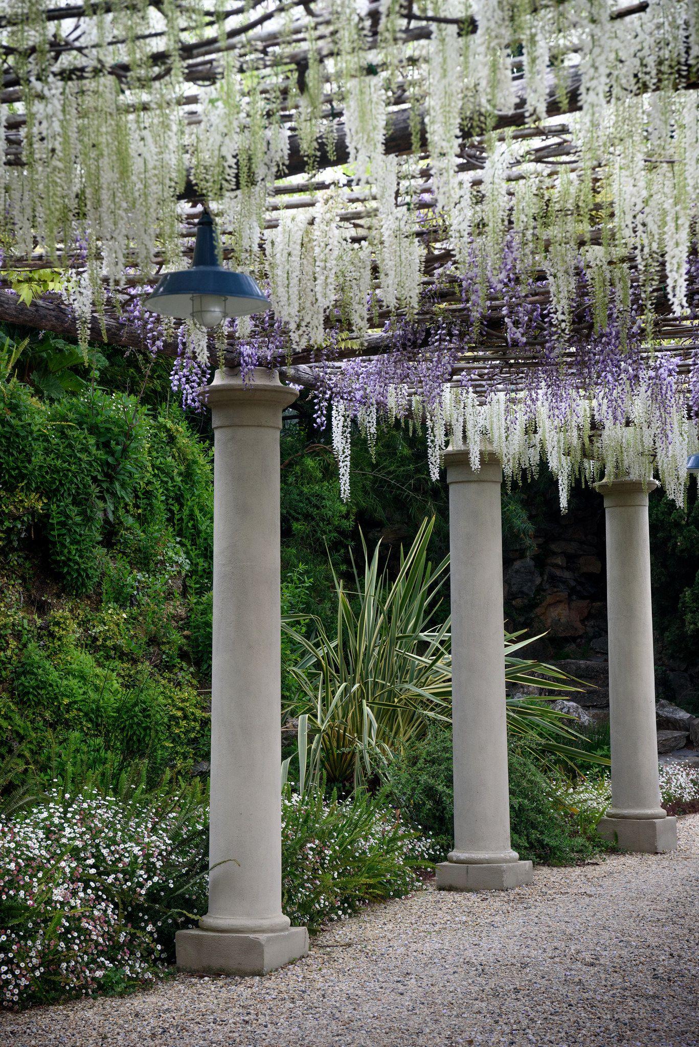 Alassio Giardini di Villa della Pergola Jardines