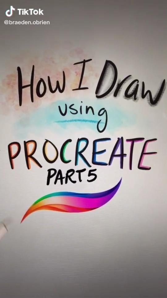 """How to use Procreate"" 5"
