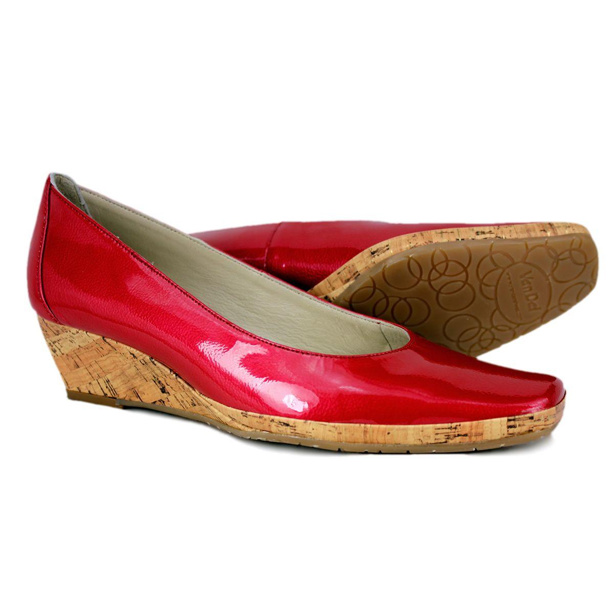 5525c5e9cbc07 medium heel shoes   Van Dal Palawan Ladies Mid Heel Cork Wedge Shoe   Shoes  GB