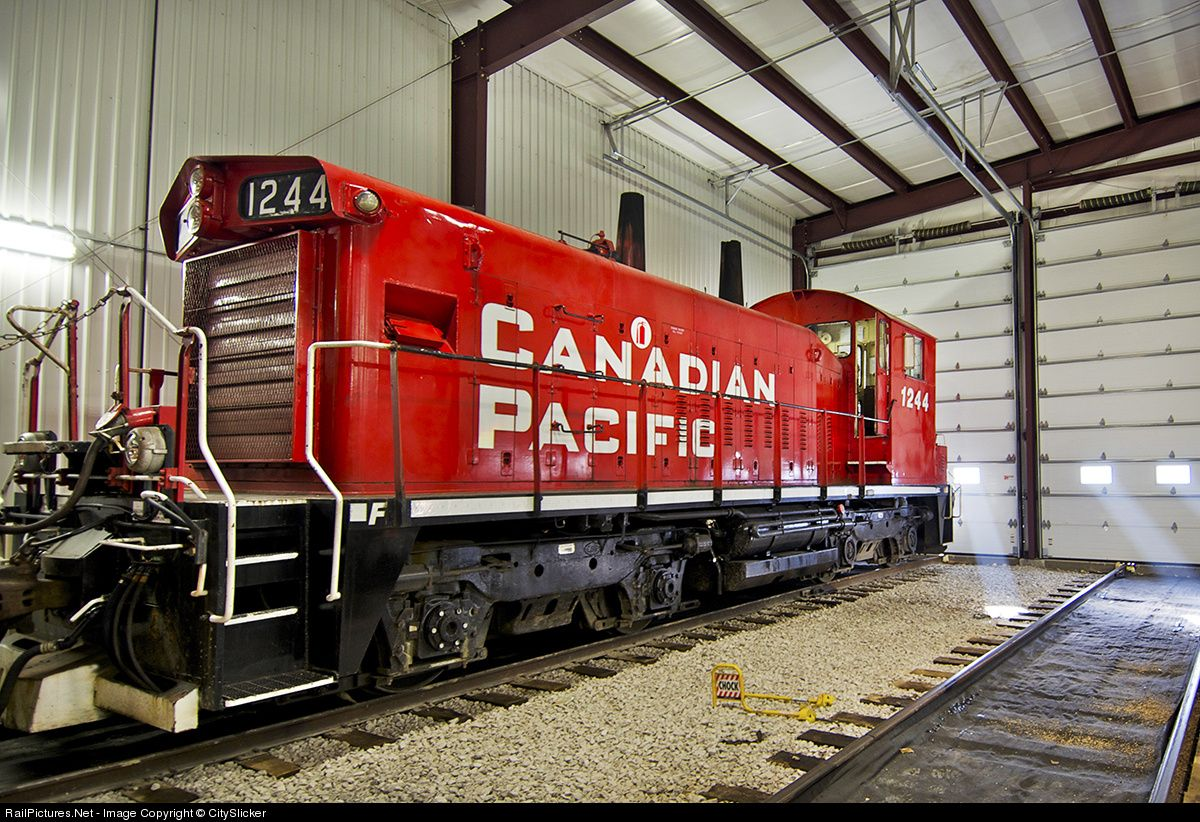 RailPictures.Net Photo: CP 1244 Canadian Pacific Railway EMD SW1200 at Salford , Ontario, Canada by CitySlicker