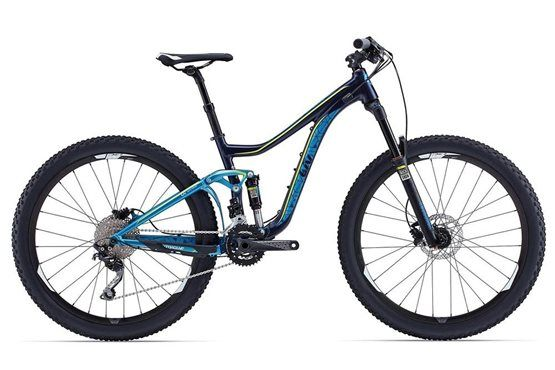 Giant Intrigue Womens Mountain Bike 2015 - Full Suspension MTB